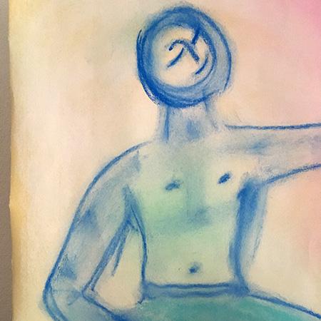 ki:ila Yoga Zeichnung
